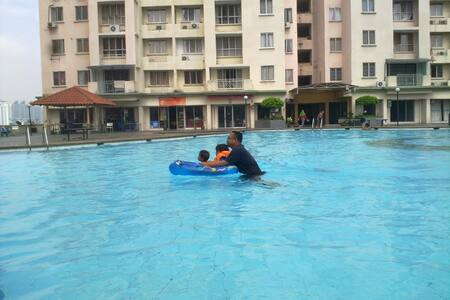 Personalize Room with swimming pool - Labu - Apartment