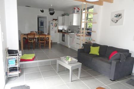 Maison 7 couchages 100m de la plage - Les Moutiers-en-Retz - Huis