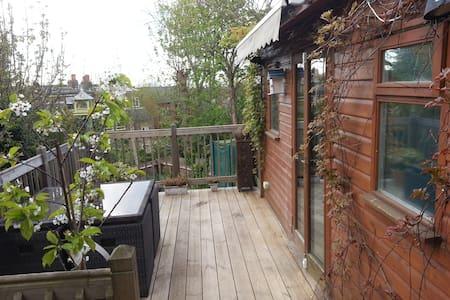 Stylish double suite, own entrance & S/R - London - Cabin