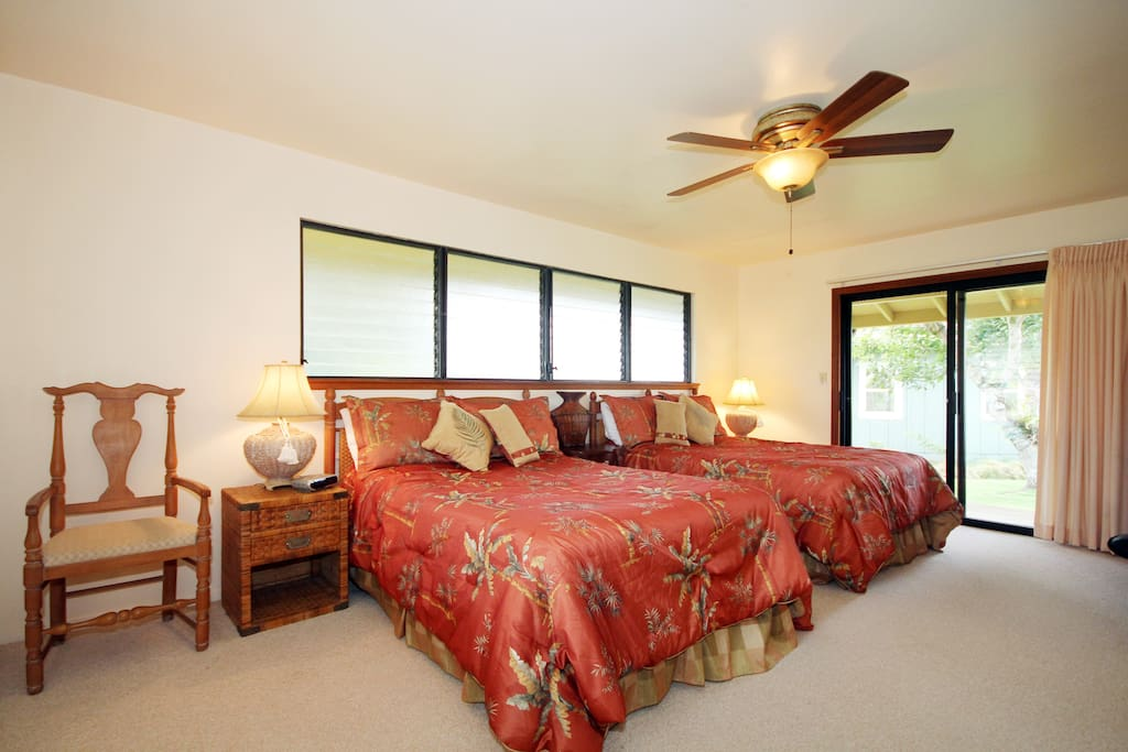 Three Master Bedroom House on Kauai