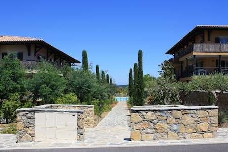 Luxury Apt with A/C, Pool & Garden