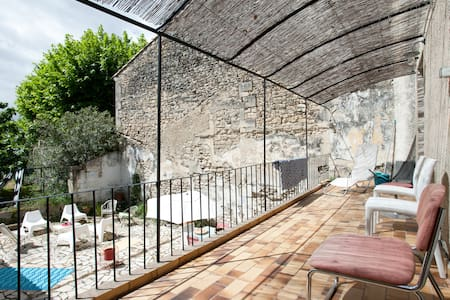 Provence flat swimming pool for 2p