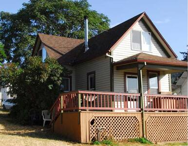 Cozy 2bdr mountain view downtown - White Salmon - Casa