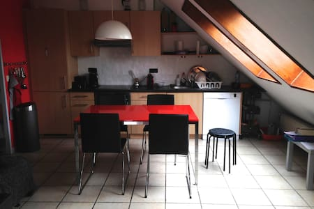 Appartement avec grande terrasse - Ottignies-Louvain-la-Neuve - Apartment