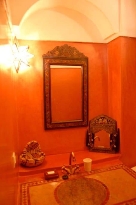 Riad Massiba : Room Mauve