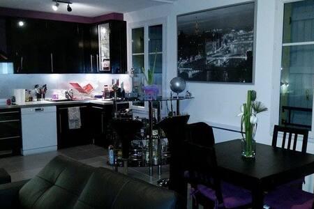 Duplex en plein coeur de ville - Apartament
