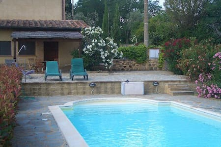 Tuscany apartment with private pool - Villa