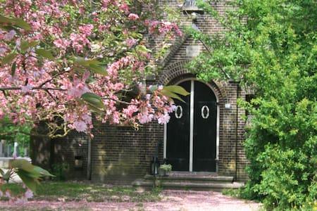 een kerkje aan het Damsterdiep - Garrelsweer - Other