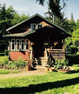 Craftsman home on private 3 acres - Coupeville - Loft