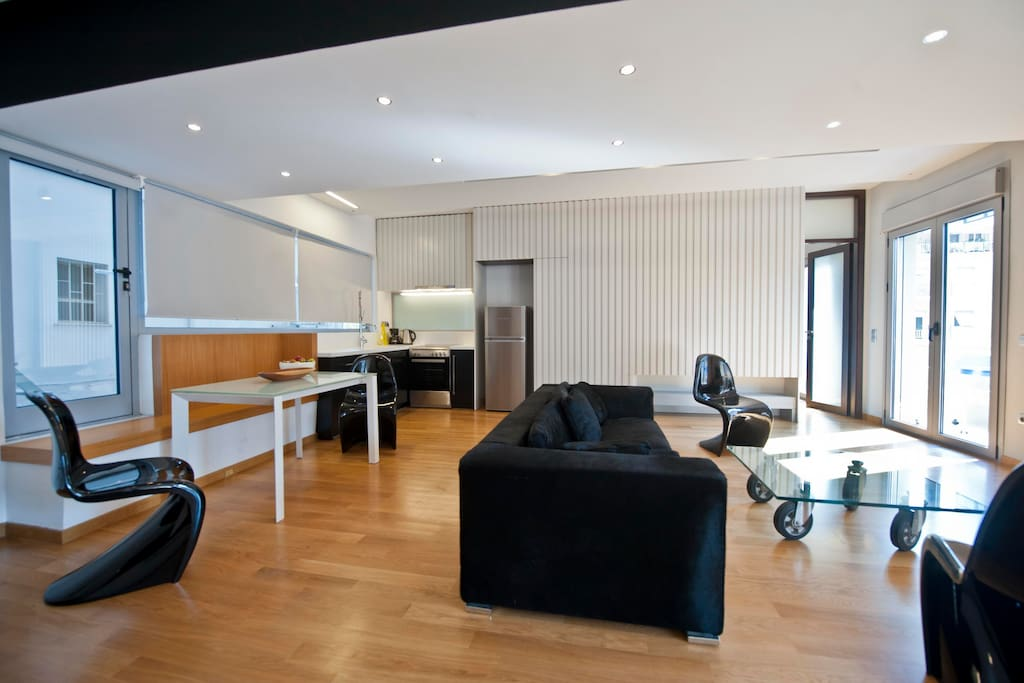 New beautiful central apartment