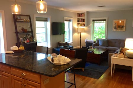 Sunny 2BD with AC & Street Parking