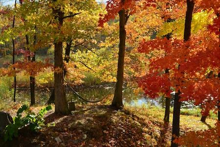 Gorgeous River Retreat - Lansing - Hus