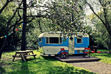 Retro B&B glamping, South Norfolk - Bed & Breakfast