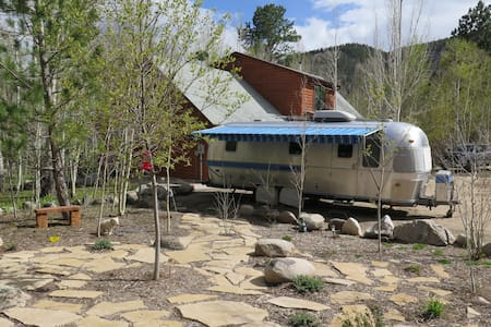 Vintage Airstream in the Aspens - Kamp Karavanı/Karavan