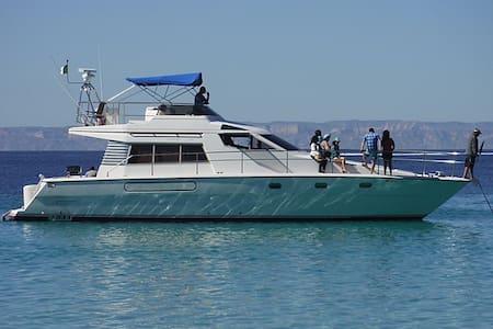 52' Yacht on the Bay of La Paz