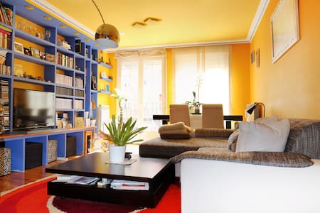 Habitación con balcón y cama de 1'5 - Bed & Breakfast
