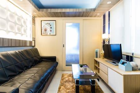 1BR COR. UNIT POOL VIEW@SEA nrMOA&airport, Max6PAX - Apartamento