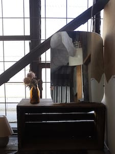 Rustic attic room in Arts Warehouse - Northcote - Loft