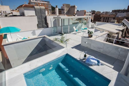 Stunning penthouse with roof-pool p - Malaga - Appartamento