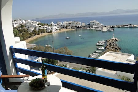 Double Room with sea view - Πίσω Λιβάδι
