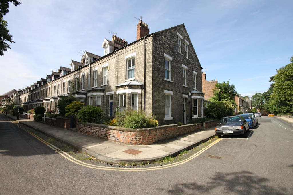 Our large 5 bedroom house is right on the corner of Baile Hill terrace and Newton terrace