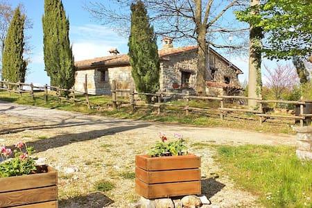 """Cottage """"Ulivi"""" - Castell'Azzara (SI) - Apartamento"""