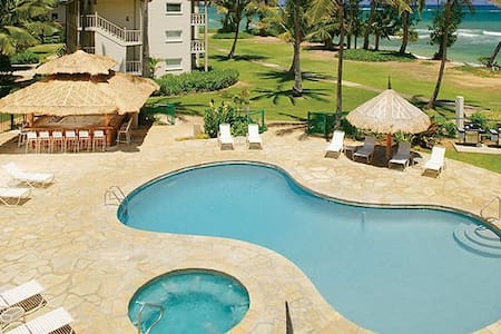 Ocean View, Quiet Beach, Free Pkg - Kapaa - Condominium