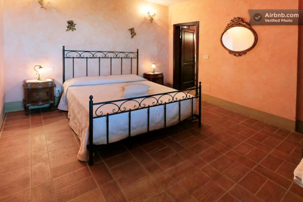 Apartment 'Ginestre' the bedroom