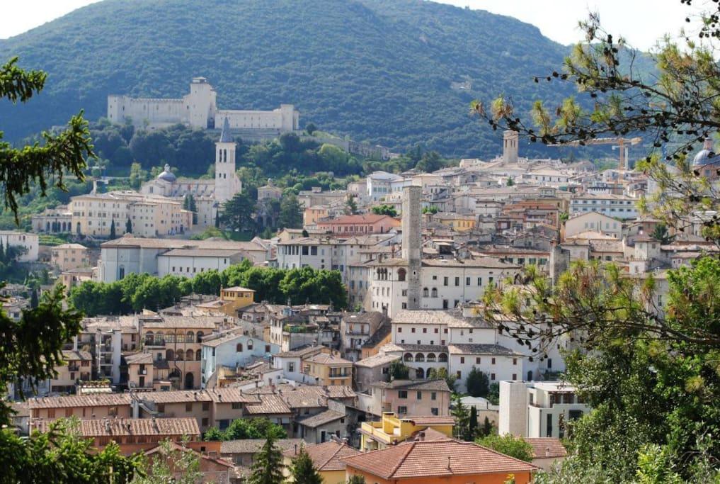 Spoleto view..