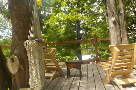Cedar Ridge- farm house, forest deck, patio w/BBQ! - Bonnechere Valley - Cabin