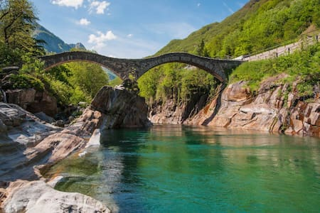 Cottage Verzasca near Locarno - Lavertezzo