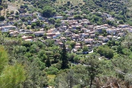 Mezoneta in  trandisional village - Asomatos