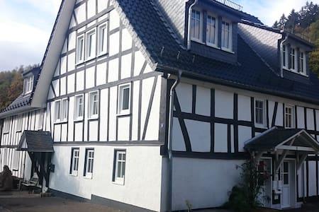 """FeWo """"Aale Huss"""" altes Bauernhaus mit Charme - Netphen - Condomínio"""