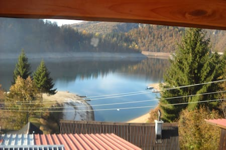 Amazing view on Zlatar Lake - House