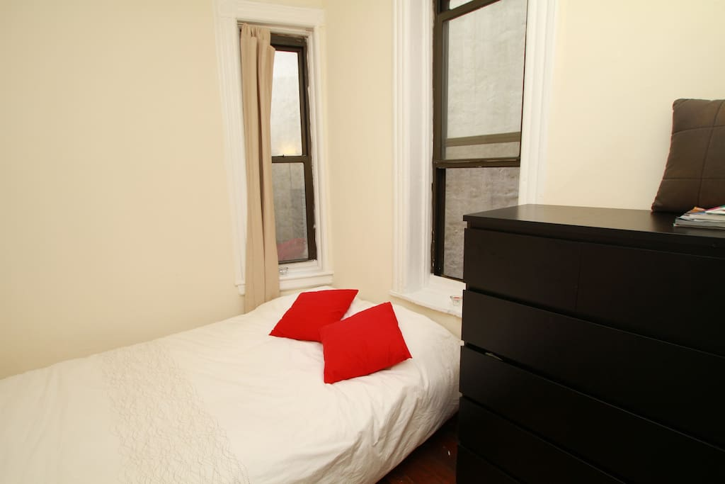 Photo 5 - Room two when converted to full size bed for 3 or more guests - photo taken by airbnb
