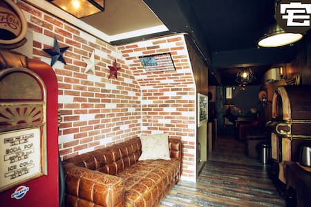 American Harley theme room - House