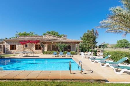 Villa with pool in idyllic location