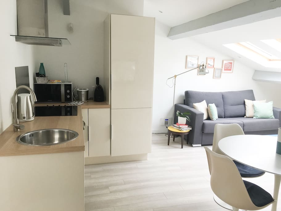 Cosy apartment 1br in city center
