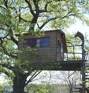 Cabane perchée près de Cluny, Macon - Treehouse