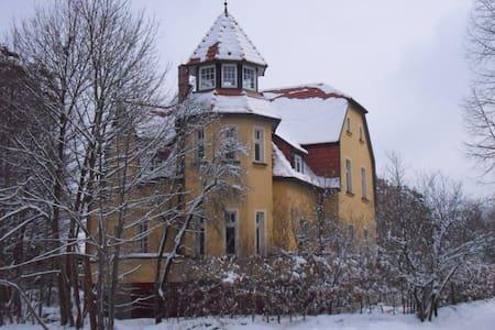 Ferienwohnung, Villenetage - Villa