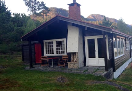 Beatiful cottage with fjord view - Chatka
