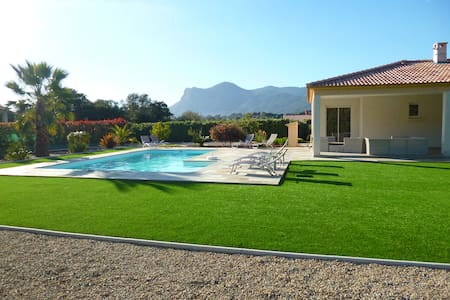 chambre privée avec accès piscine - Cuttoli-Corticchiato - Huis