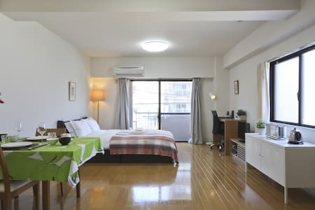 Big Cozy Studio Near MEIJI SHRINE - Shibuya-ku - Lägenhet