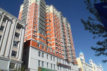 满洲里----4居(6-10人)度假套房 - Hulunbeier Shi - Appartement