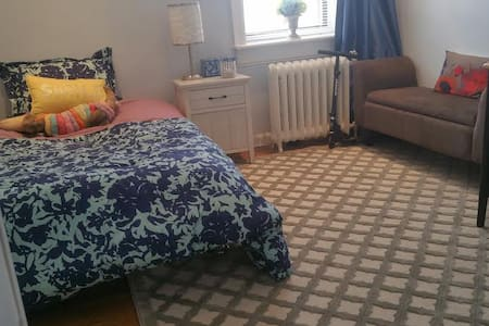 Renovated private bedroom NYC 15mns