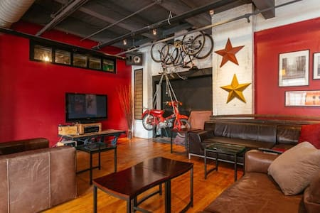 Iconic West Loop Loft -Private Room 2 - Chicago - Loft