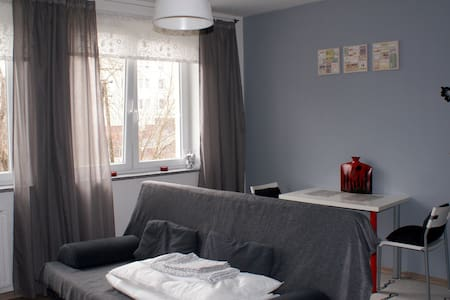 New modern furnished studio + WIFI - Poznań - Apartment