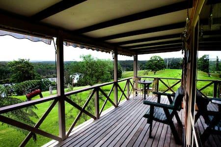 Biddies cottage on rural farm - Nelligen - Hytte