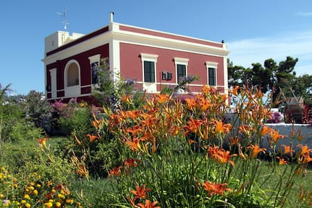 Italian Country house with pool. FICO appartment - Villa