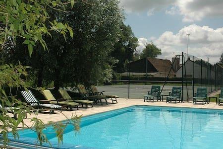 Gite 5 * avec piscine et tennis - Sempy - House
